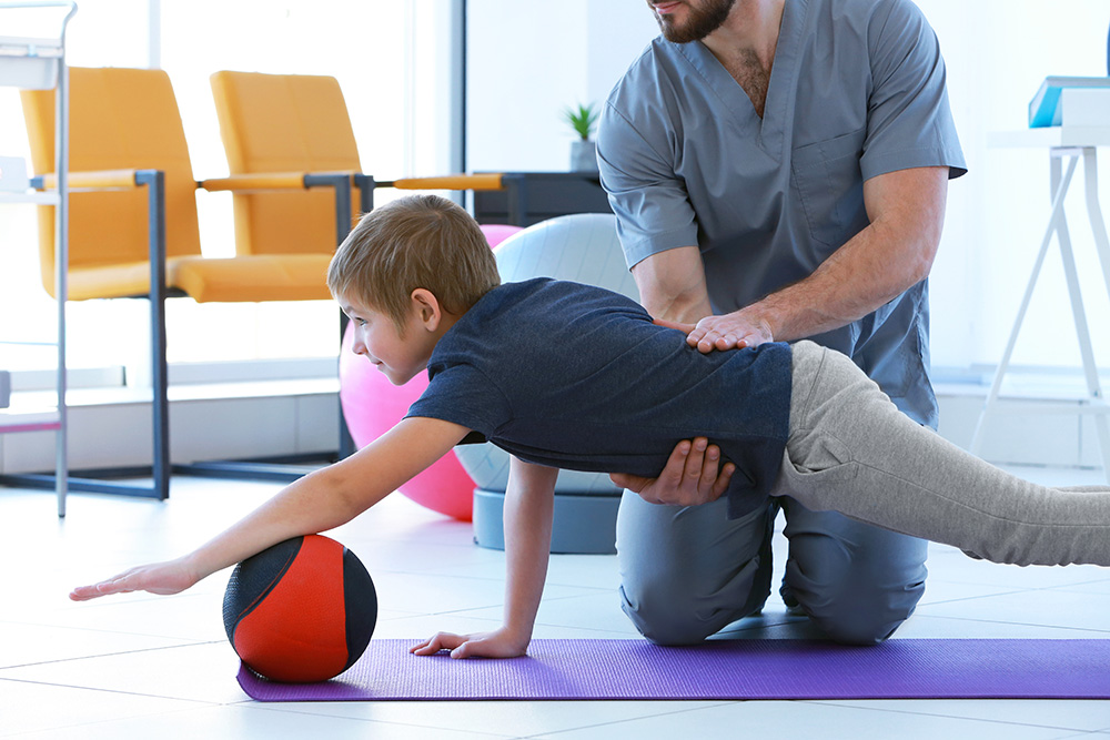 How to support your child in physical therapy