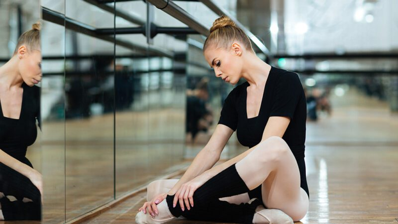 sports performance - good and bad pain experienced by dancers